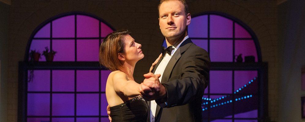 Melissa Kramer and Jeff Schissler in 'Dancing Lessons'. 2018 Season