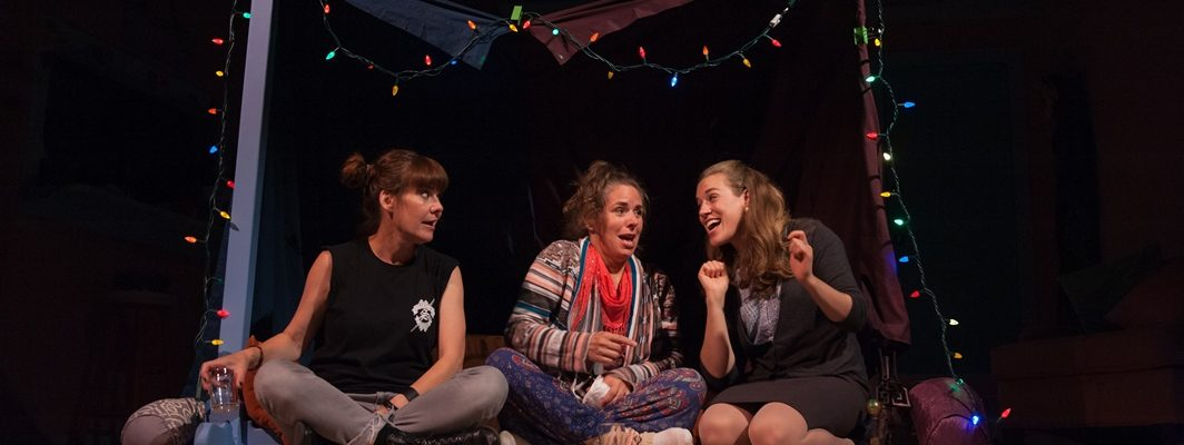 Renee Hackett, Johanna Nutter & Melanie Piatocha in 'Myth of the Ostrich'. Season 2018